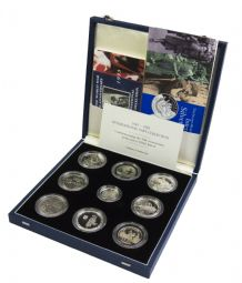 1995 WWII 50th Anniversary Silver Proof Set for sale